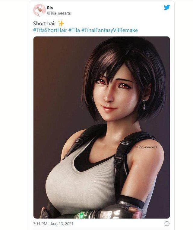 Cộng đồng game thủ phát sốt trước Tifa tóc ngắn vô cùng quyến rũ - Ảnh 5.