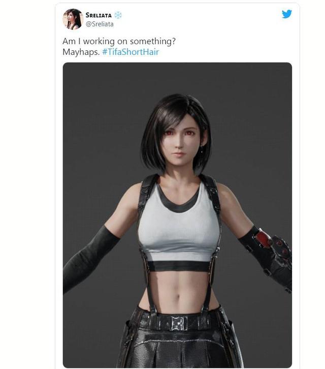 Cộng đồng game thủ phát sốt trước Tifa tóc ngắn vô cùng quyến rũ - Ảnh 8.