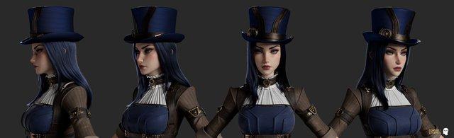 Game thủ LMHT yêu cầu Riot nâng cấp hình ảnh cho Caitlyn -16293423945281253393371