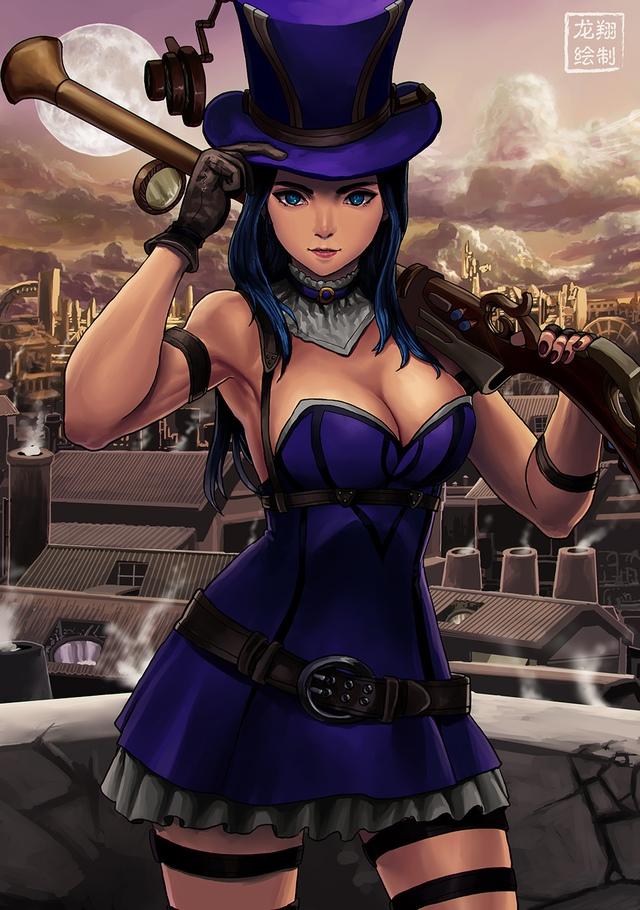 Game thủ LMHT yêu cầu Riot nâng cấp hình ảnh cho Caitlyn Photo-1-16293421995701497617620