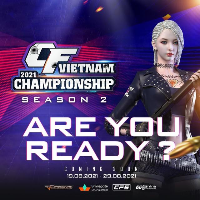 CFVN Championship 2021 mùa 2 - Con đường lên chuyên nghiệp của gamer Đột Kích đã bắt đầu! - Ảnh 1.