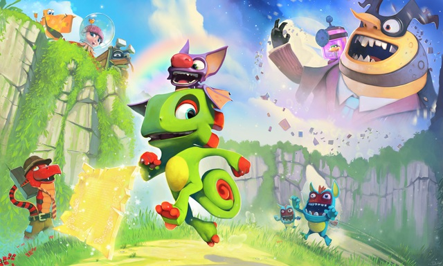 Download now Yooka-Laylee, the legendary Platformer game is being 100% free - Photo 2.