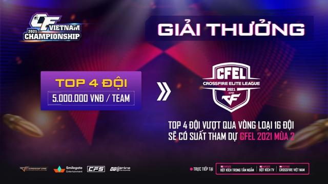 CFVN Championship 2021 mùa 2 - Con đường lên chuyên nghiệp của gamer Đột Kích đã bắt đầu! - Ảnh 4.