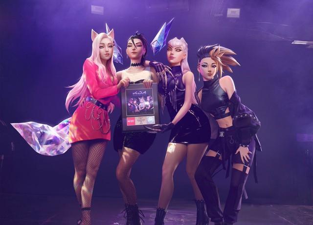 Bảo công ty âm nhạc thì lại tự ái: Nhóm K/DA của ông bầu Riot nhận giải thưởng danh giá cho siêu phẩm âm nhạc POP/STAR - Ảnh 1.