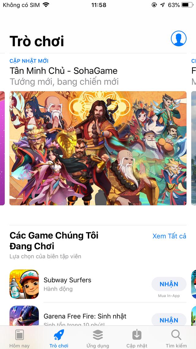 game Tân Minh Chủ luôn trong TOP Thịnh Hành tại Store Việt Nam Img0182-1629438181964752450167