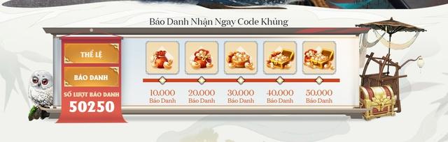 Tàng Kiếm Mobile cán mốc 50,000 lượt đăng ký trước sau duy nhất 1 ngày, hứa hẹn trở thành siêu bão mới của làng game Việt! - Ảnh 7.