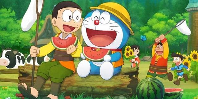 """Conan và những đứa trẻ """"không được phép lớn lên"""" Doraemon-16296142913541960221646"""