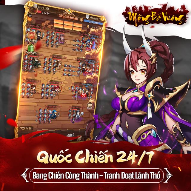 """Mộng Bá Vương – Tựa game mobile chiến thuật Tam Quốc cực """"Cute"""" sắp ra mắt game thủ Việt - Ảnh 2."""
