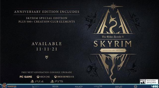 Despite gamers looking forward to new games, Bethesda continues to milk Skyrim on PS5 - Photo 2.
