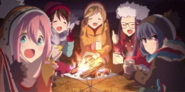 Isekai và 9 xu hướng anime đã từng phát cuồng  Laid-back-camp-season-2-1629709247090471783189