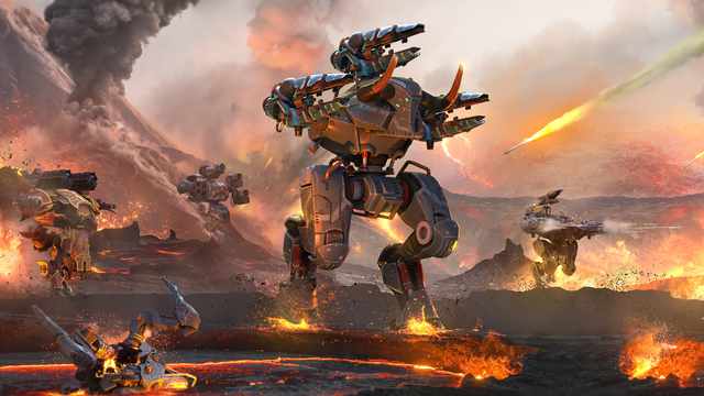 Bombardment, firing bullets in the great war of War Robots, 100% free - Photo 2.