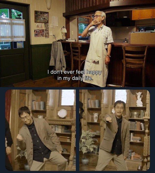 Loạt meme hài hước về sự đối lập giữa đạo diễn Miyazaki Hayao và họa sĩ Junji Ito - Ảnh 11.