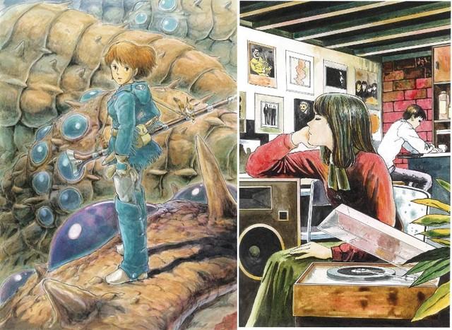 Loạt meme hài hước về sự đối lập giữa đạo diễn Miyazaki Hayao và họa sĩ Junji Ito - Ảnh 1.