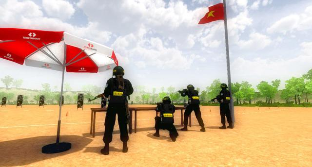 Appears a Vietnamese game that allows you to play the role of a mobile police force - Photo 4.