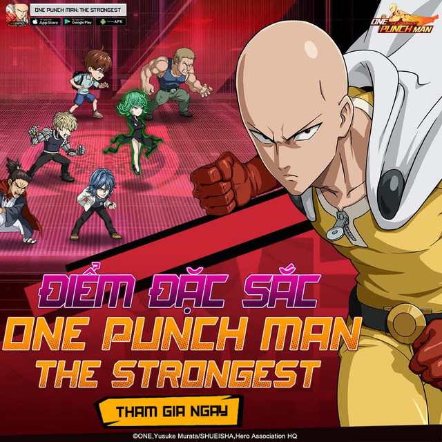 Hai bảo bối khiến One Punch Man: The Strongest hạ gục game thủ Việt trong nháy mắt - Đặc sắc và hiệu ứng ingame - Ảnh 2.
