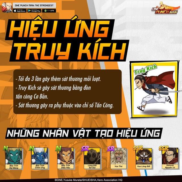 Hai bảo bối khiến One Punch Man: The Strongest hạ gục game thủ Việt trong nháy mắt - Đặc sắc và hiệu ứng ingame - Ảnh 6.