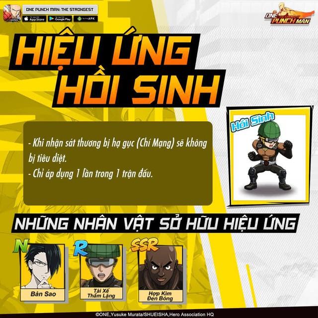 Hai bảo bối khiến One Punch Man: The Strongest hạ gục game thủ Việt trong nháy mắt - Đặc sắc và hiệu ứng ingame - Ảnh 9.