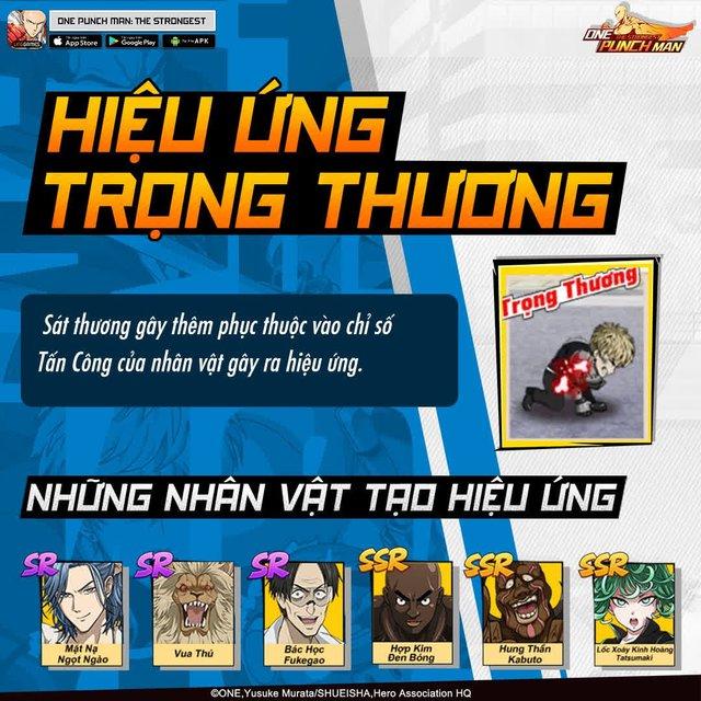 Hai bảo bối khiến One Punch Man: The Strongest hạ gục game thủ Việt trong nháy mắt - Đặc sắc và hiệu ứng ingame - Ảnh 5.