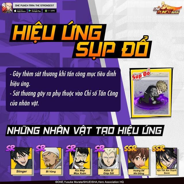 Hai bảo bối khiến One Punch Man: The Strongest hạ gục game thủ Việt trong nháy mắt - Đặc sắc và hiệu ứng ingame - Ảnh 8.