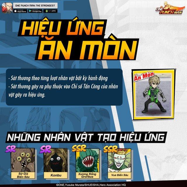 Hai bảo bối khiến One Punch Man: The Strongest hạ gục game thủ Việt trong nháy mắt - Đặc sắc và hiệu ứng ingame - Ảnh 11.