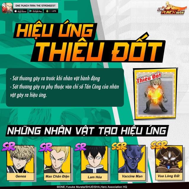 Hai bảo bối khiến One Punch Man: The Strongest hạ gục game thủ Việt trong nháy mắt - Đặc sắc và hiệu ứng ingame - Ảnh 10.