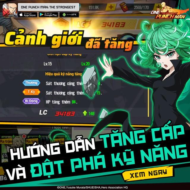 Những mẹo siêu hay cho game thủ mới bước chân vào thế giới của Thánh Phồng – One Punch Man: The Strongest - Ảnh 7.