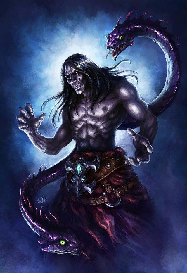 Các ác xà nổi tiếng trong thần thoại: Orochi thực ra cũng thường thôi! - Ảnh 1.
