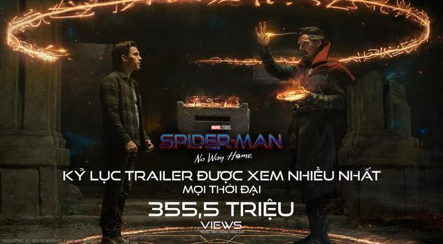 Trailer Spider-Man 3 phá kỷ lục lượt xem sau 24h ra mắt, xứng đáng bom tấn được mong chờ của Marvel - Ảnh 2.