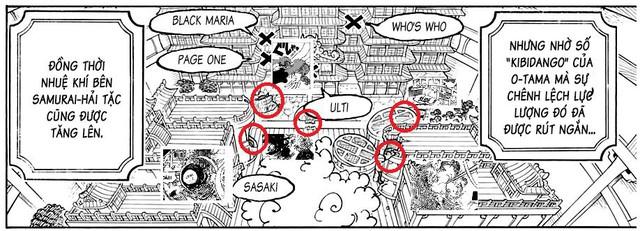 Soi những chi tiết thú vị trong One Piece chap 1022 Photo-3-1630162625411806533626