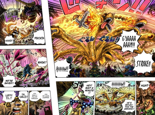 One Piece: Những bằng chứng cho thấy sức mạnh của Sanji đang ở một tầm cao mới, xứng đáng là đôi cánh của Vua Hải Tặc - Ảnh 5.