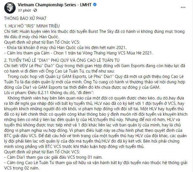 Dia1 đổi nick-name rank Hàn thành VinhCS, công khai cà khịa chủ cũ của GAM trong thời gian thực hiện án phạt - Ảnh 2.