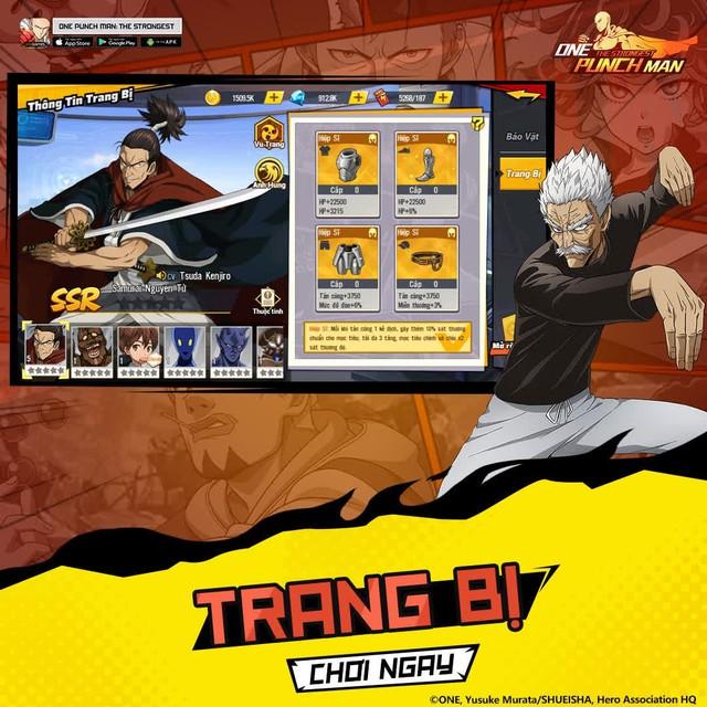 [Hướng dẫn] 5 bước mạnh hóa nhân vật trong One Punch Man: The Strongest cực dễ - Ảnh 7.