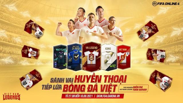 VietNam Legends: Game thủ háo hức khi FIFA Online 4 hứa tặng cầu thủ Viêt Nam - Ảnh 1.