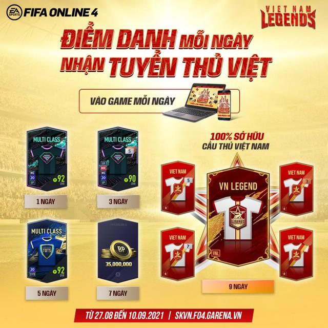 VietNam Legends: Game thủ háo hức khi FIFA Online 4 hứa tặng cầu thủ Viêt Nam - Ảnh 2.
