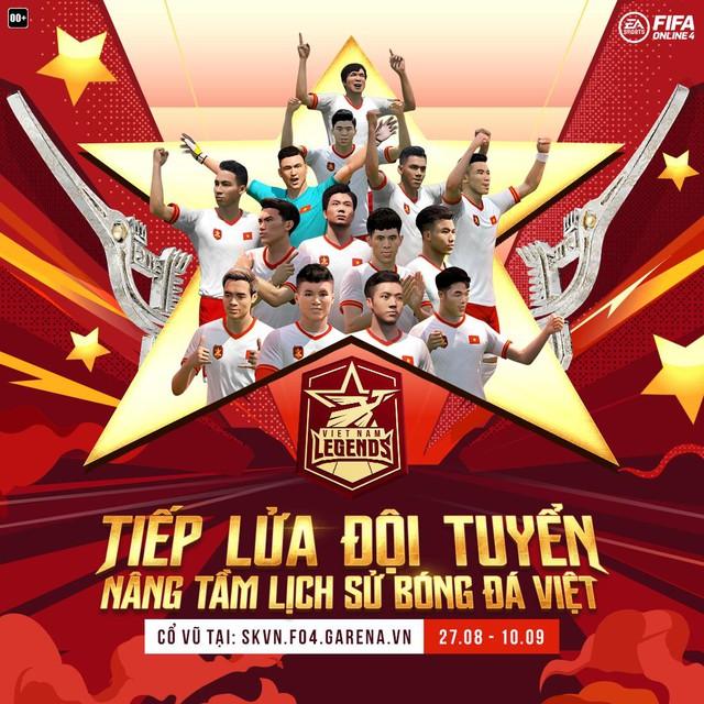 VietNam Legends: Game thủ háo hức khi FIFA Online 4 hứa tặng cầu thủ Viêt Nam - Ảnh 5.