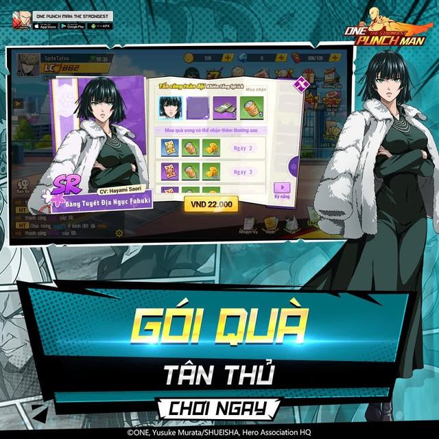hốt sạch quà dành cho game thủ One Punch Man: The Strongest -1630389978621441631484