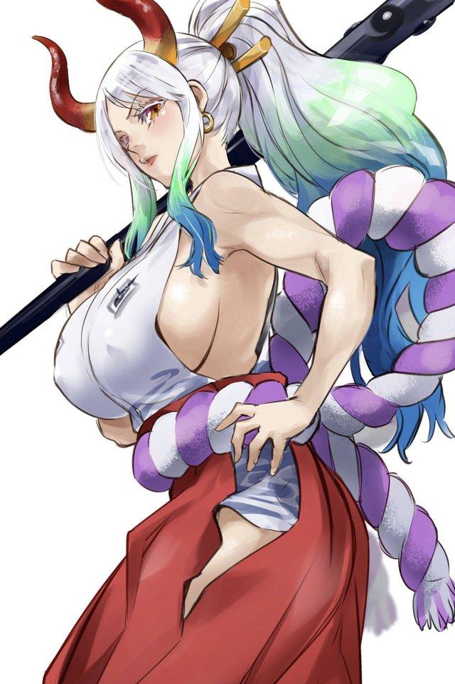 Các fan háo hức khi Trùng Trụ Hayami Saori sẽ là seiyuu lồng tiếng cho Yamato trong One Piece - Ảnh 3.