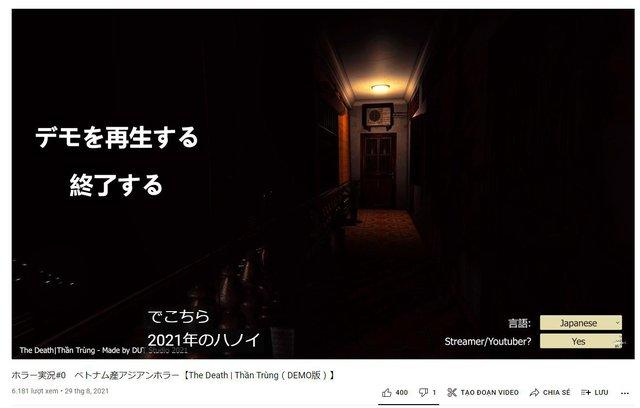 Cùng xem YouTuber Nhật Bản chơi thử Thần Trùng đang rất hot trên Steam - Ảnh 1.