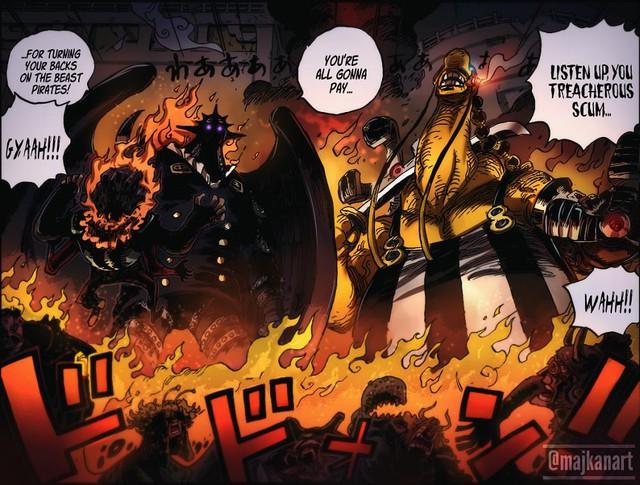 One Piece: Soi điểm yếu của băng Kaido và cơ hội chiến thắng cho Liên minh Mũ Rơm? - Ảnh 2.