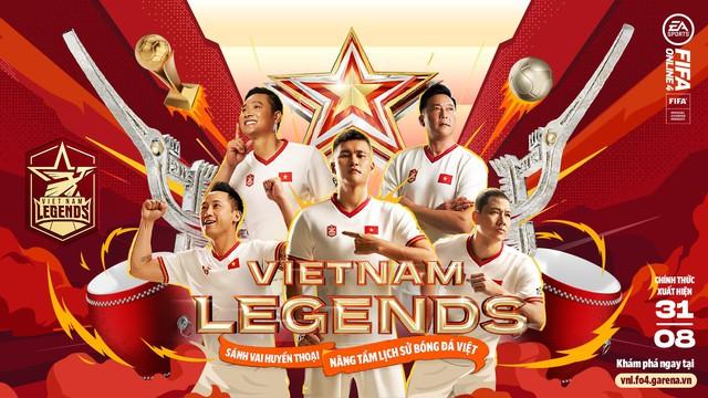 Hồng Sơn và các huyền thoại bóng đá Việt Nam bất ngờ xuất hiện trong FIFA Online 4 - Ảnh 1.
