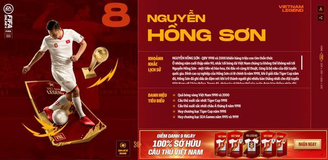 Hồng Sơn và các huyền thoại bóng đá Việt Nam bất ngờ xuất hiện trong FIFA Online 4 - Ảnh 2.