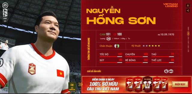 Hồng Sơn và các huyền thoại bóng đá Việt Nam bất ngờ xuất hiện trong FIFA Online 4 - Ảnh 3.