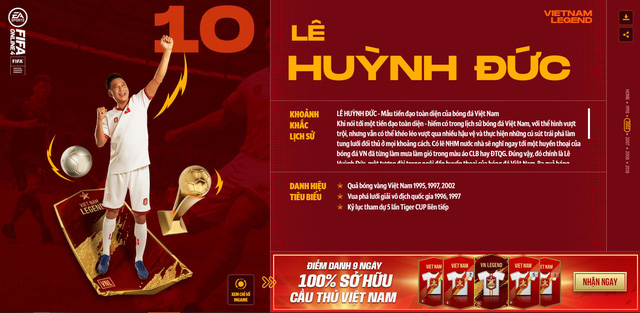 Hồng Sơn và các huyền thoại bóng đá Việt Nam bất ngờ xuất hiện trong FIFA Online 4 - Ảnh 4.