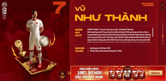 Hồng Sơn và các huyền thoại bóng đá Việt Nam bất ngờ xuất hiện trong FIFA Online 4 - Ảnh 6.
