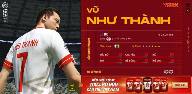Hồng Sơn và các huyền thoại bóng đá Việt Nam bất ngờ xuất hiện trong FIFA Online 4 - Ảnh 7.