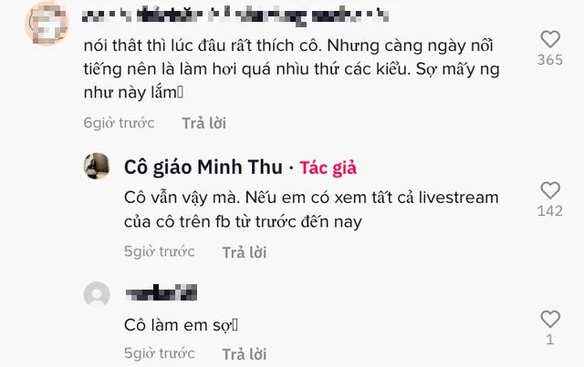 """CĐM xôn xao đoạn clip cô giáo Minh Thu trợn mắt, lườm nguýt, quát anti khi bị """"cà khịa chuyện livestream chơi game - Ảnh 5."""