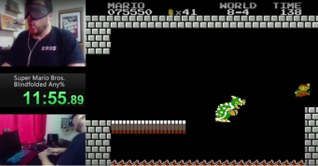 Bá đạo tới mức bịt mắt vẫn phá đảo game Mario, còn lập cả kỷ lục Guiness thế giới, nam game thủ khiến CĐM ngả mũ bái phục - Ảnh 3.