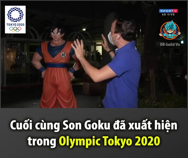 Son Goku và tuyệt kỹ Kamehameha xuất hiện trong thế vận hội mùa hè Olympic Tokyo 2020 - Ảnh 1.
