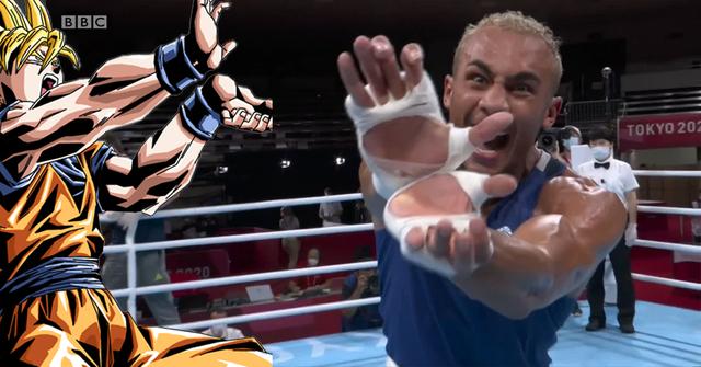 Son Goku và tuyệt kỹ Kamehameha xuất hiện trong thế vận hội mùa hè Olympic Tokyo 2020 - Ảnh 4.