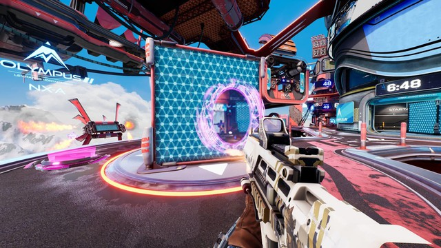 Free download Splitgate, a shooter with tens of thousands of players on Steam - Photo 1.
